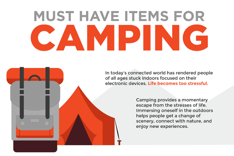 Camping Checklist – 8 Necessary Things for Camping
