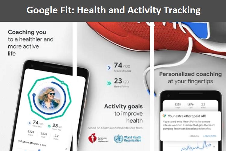 google fit - health app