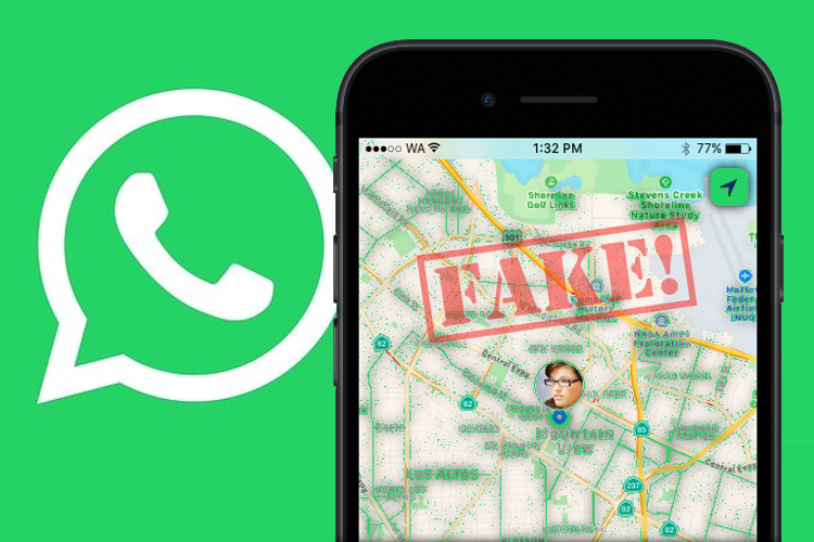 How to Send a Fake Live Location on WhatsApp using Smartphone
