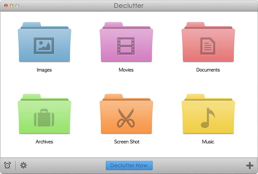 declutter desktop mac